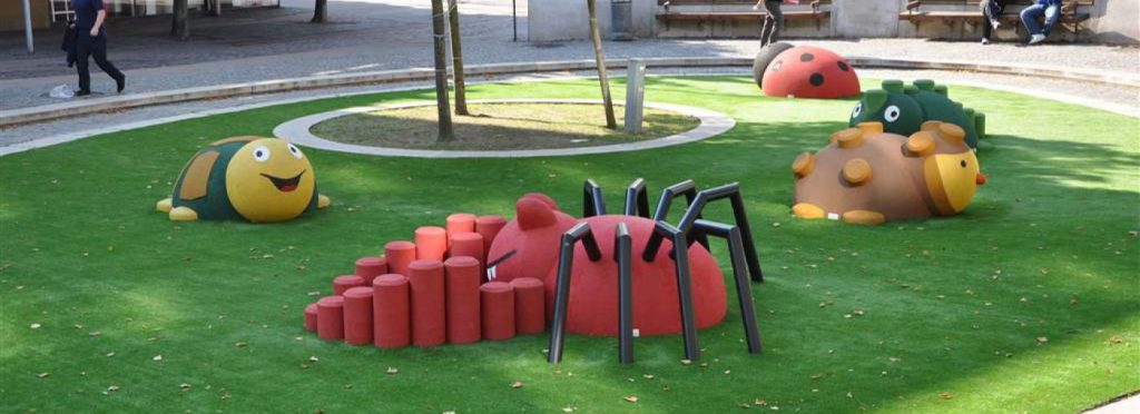 3D Animals for the playground